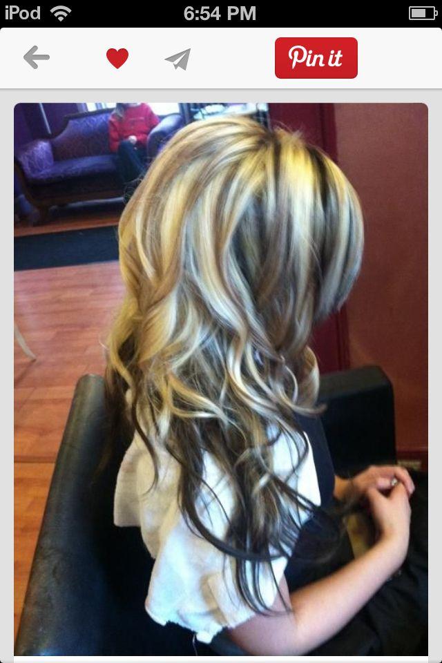 Окрашивание на светлые волосы в несколько цветов